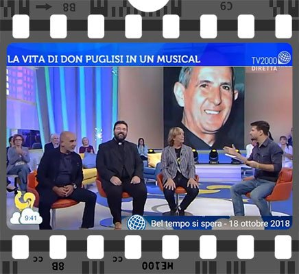 Presentato a TV2000 il musical su don Puglisi